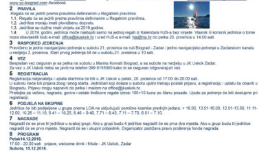 Photo of Božićna regata 21.-22. prosinaca 2019.